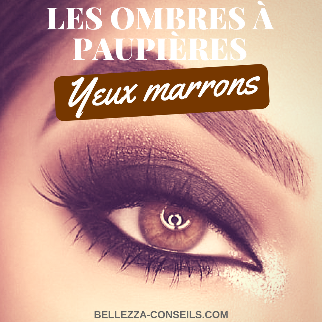 ombres/ fards pour yeux marrons